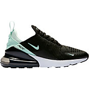 Nike Women's Air Max 270 Shoes in Black/Turq