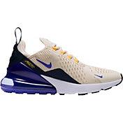 Nike Women's Air Max 270 Shoes in Cream/Purple