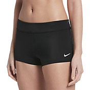 Nike Women's Solid Kick Swim Shorts
