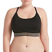 Nike Women's Plus Size Solid Crossback Bikini Top