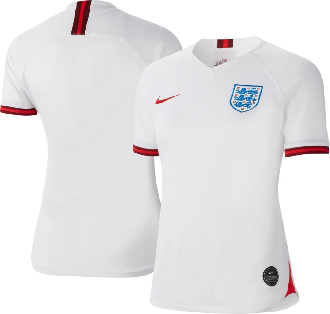 new product 0a06e 5d1ae Nike Women's 2019 FIFA Women's World Cup England Breathe Stadium Home  Replica Jersey