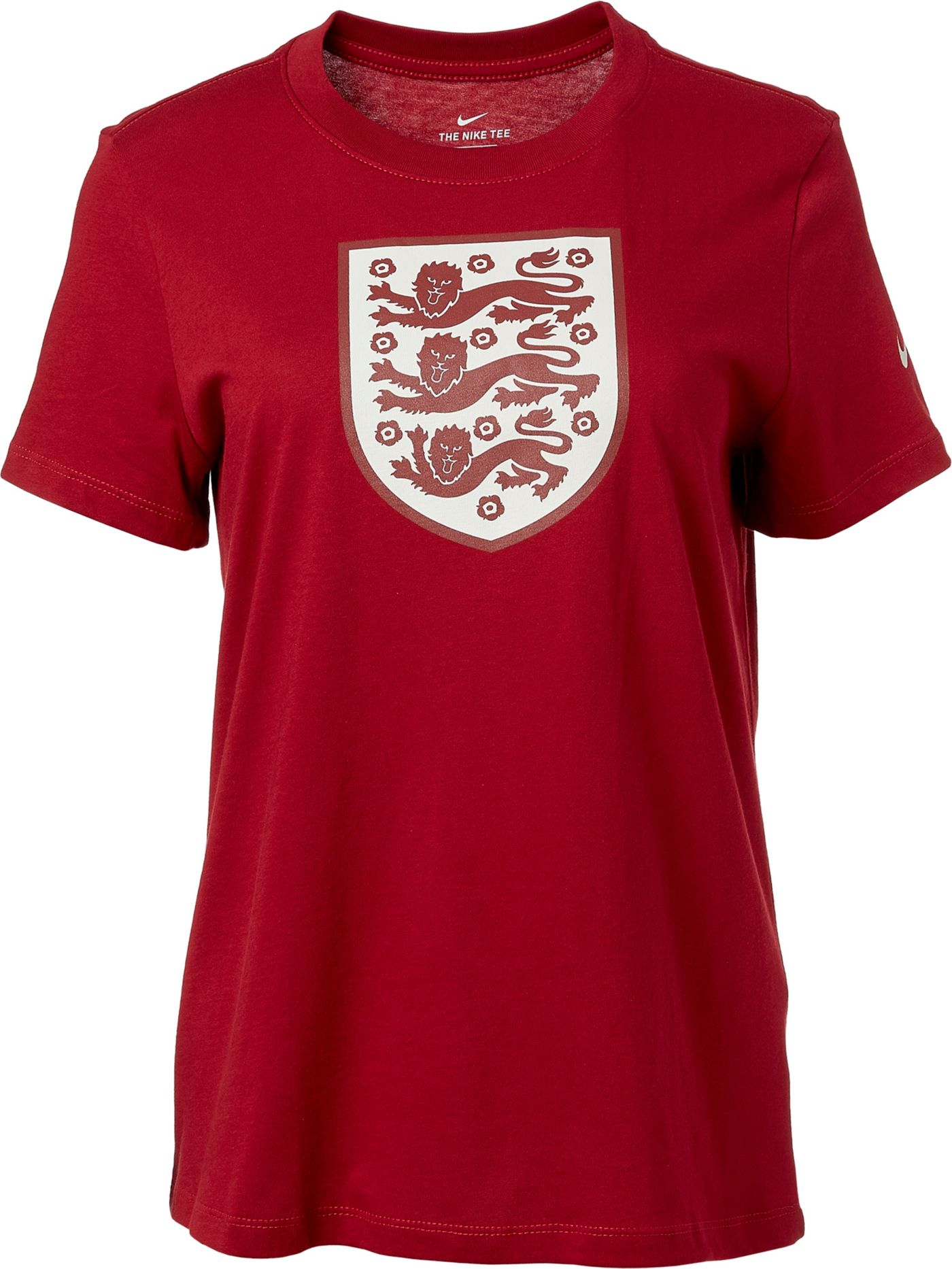 Nike Women's 2019 FIFA Women's World Cup England Crest Red T-Shirt