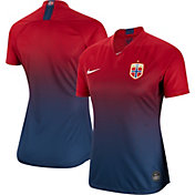 af64491f56c Product Image · Nike Women s 2019 FIFA Women s World Cup Norway Breathe  Stadium Home Replica Jersey