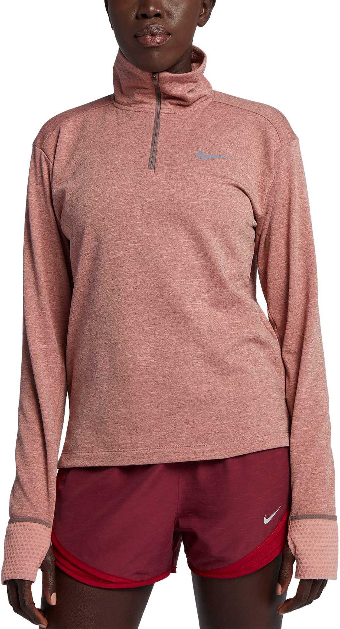 6ceec2d0 Nike Women's Therma Sphere Element Half-Zip Running Pullover ...