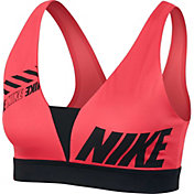 Nike Women's Sport Distort Indy Plunge Sports Bra