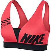 Nike Women's Sport Distort Indy Plunge Sports Bra