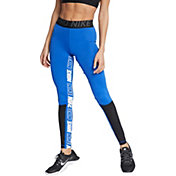 c19d668dfd416 Product Image · Nike Women's Pro Sport Distort Training Tights. Game Royal  · Black