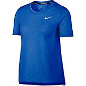 Nike Women's Miler Short Sleeve Running Shirt