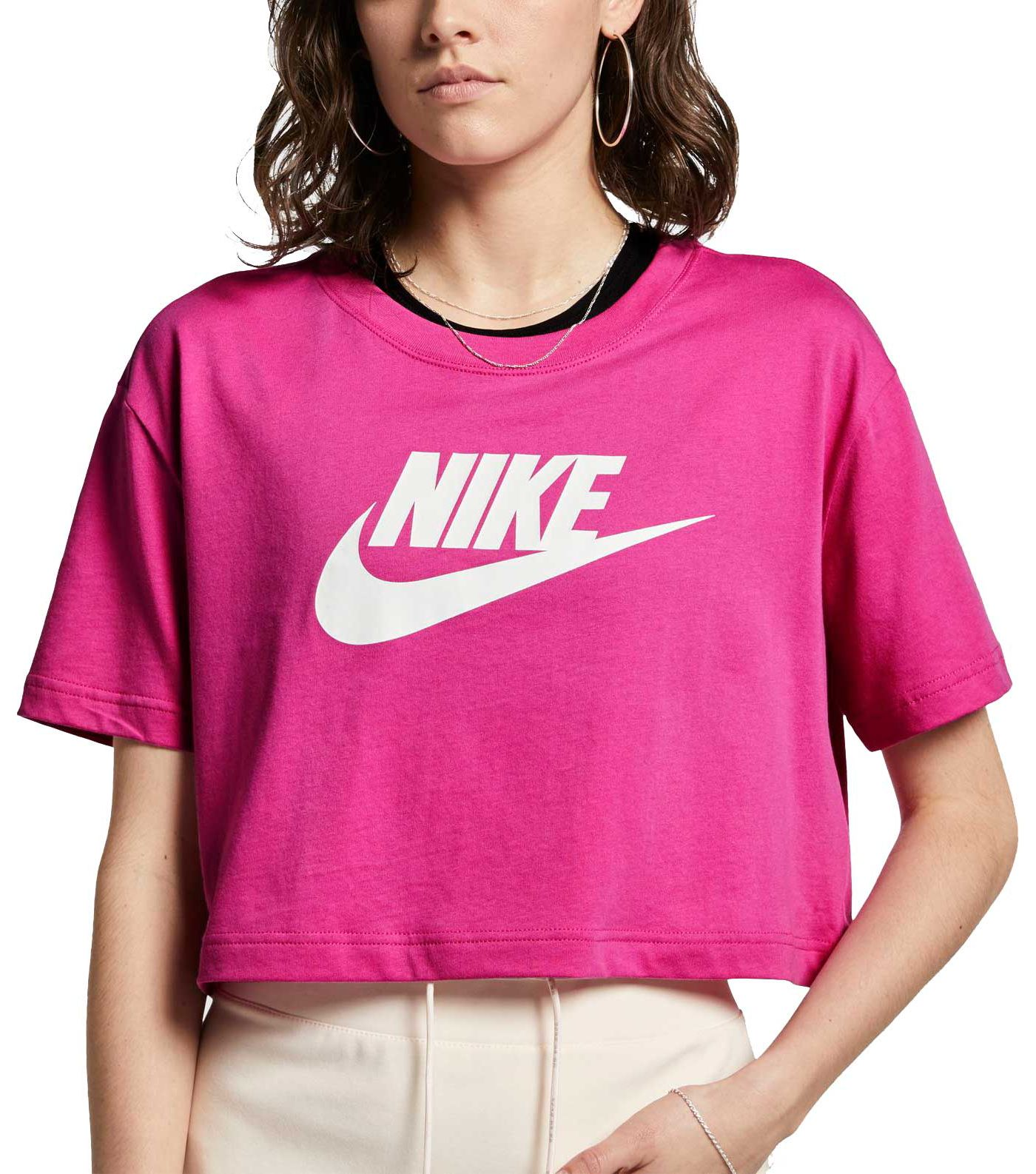 Nike Women's Essential Futura Crop Top
