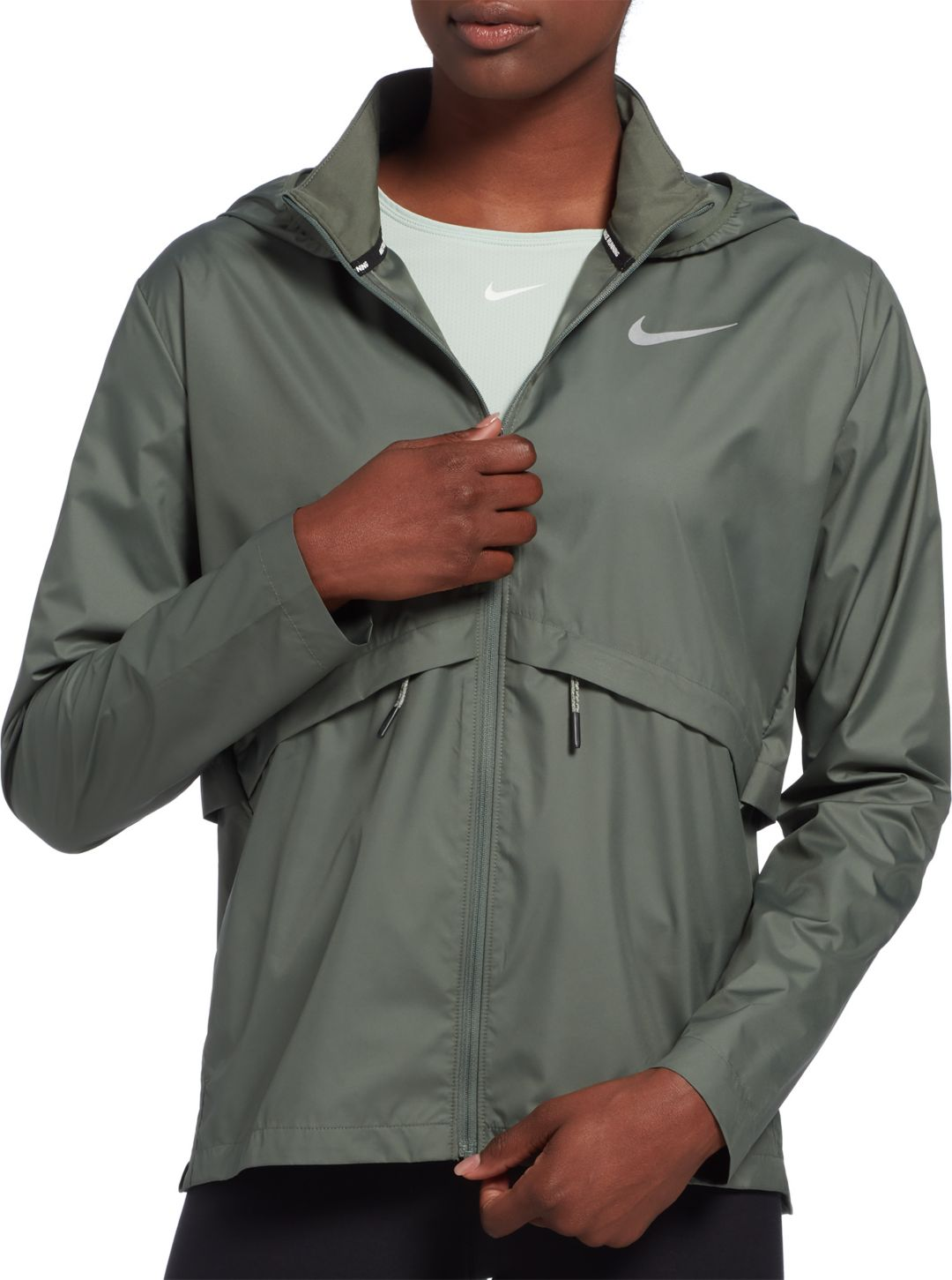 7a1fe7124cae7 Nike Women's Essential Hooded Running Jacket | DICK'S Sporting Goods