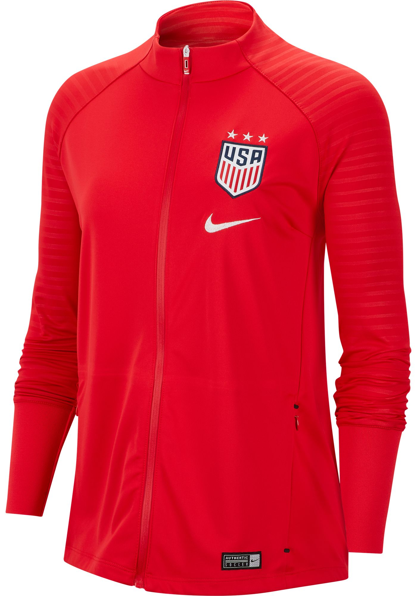 Nike Women's 2019 FIFA Women's World Cup USA Soccer Anthem Red Jacket