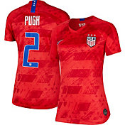 Nike Women's 2019 FIFA Women's World Cup USA Soccer Mallory Pugh #2 Breathe Stadium Away Replica Jersey