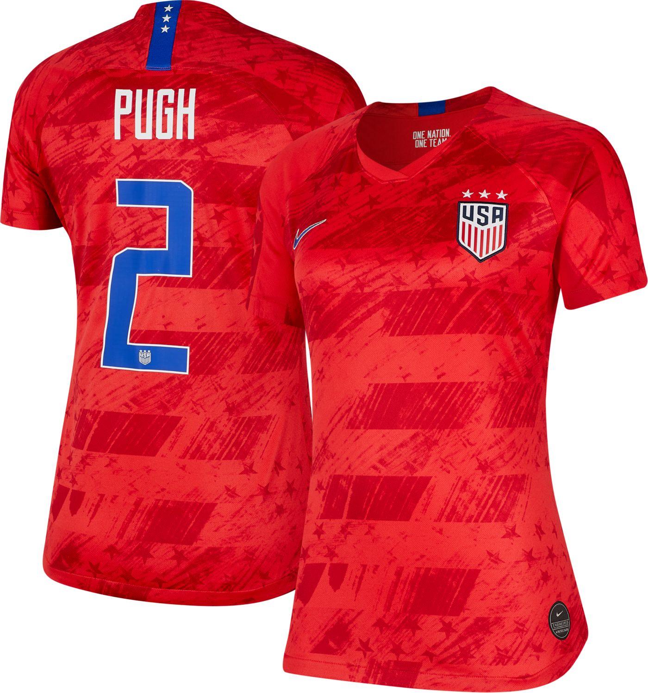 Nike Women's 2019 FIFA Women's World Cup USA Soccer Mallory Pugh #2 Breathe Stadium Away Replica Jersey