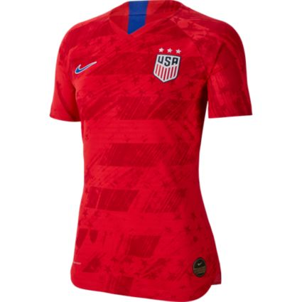 e305402e549 Nike Women s 2019 FIFA Women s World Cup USA Soccer Tobin Heath  17 Breathe  Stadium Away Replica Jersey
