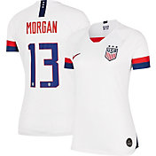 Nike Women's 2019 FIFA Women's World Cup USA Soccer Alex Morgan #13 Breathe Stadium Home Replica Jersey