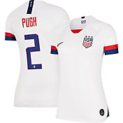 Nike Women's 2019 FIFA Women's World Cup USA Soccer Mallory Pugh #2 Breathe Stadium Home Replica Jersey