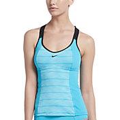 Nike Women's 6:1 Heather Stripe Racerback Tankini Top