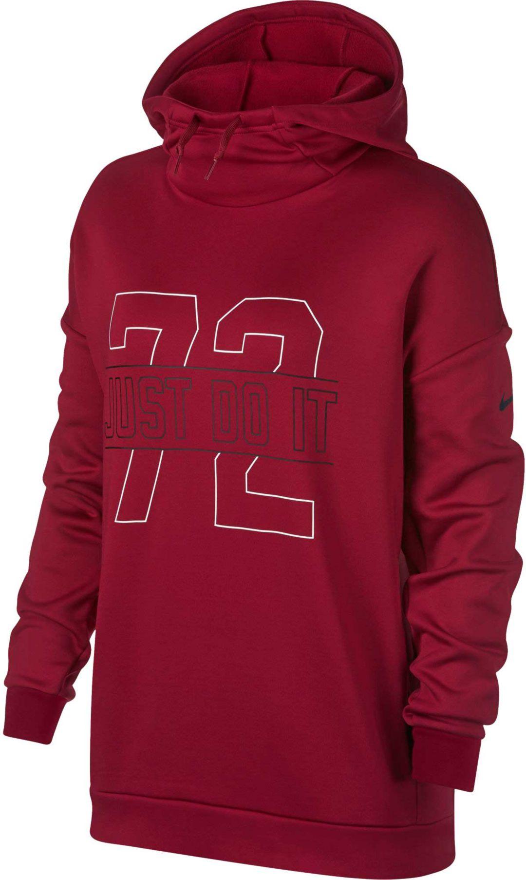 daa5ba023 Nike Women's Therma Fleece Training Hoodie | DICK'S Sporting Goods