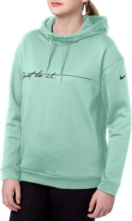 Nike Women s Therma Fleece Graphic Training Hoodie. noImageFound 38437ad1b9