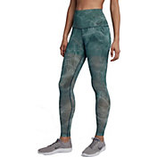 Nike Women's Tulle Mesh Power Training Tights