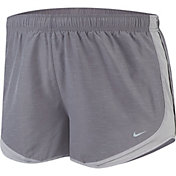 Nike Women's Plus Size Tempo Heatherized Core Tempo Shorts