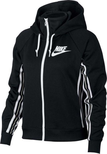 fe6d44423cb1 Nike Women s Sportswear Full-Zip Tracksuit Hoodie. noImageFound