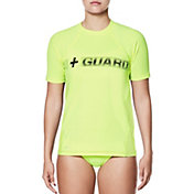 Nike Women's Guard Short Sleeve Hydro Rash Guard