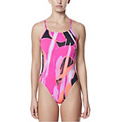 Nike Women's Performance Rule Beam V-Back Swimsuit