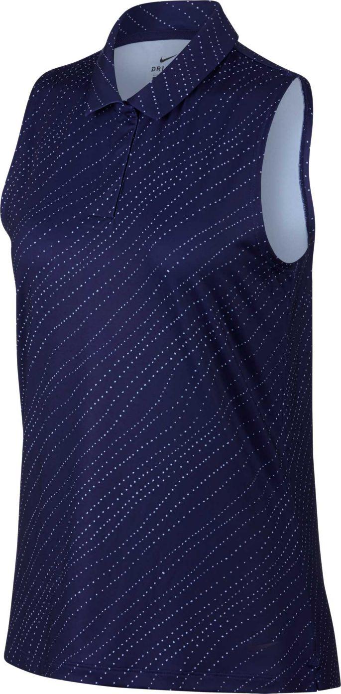 ee024f0d Nike Women's Dri-FIT Sleeveless Golf Polo   Golf Galaxy