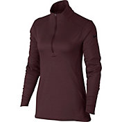 Nike Women's Dry Long Sleeve Half Zip Golf Top