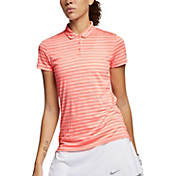 38547141 Nike Women's Dry Short Sleeve Printed Golf Polo | DICK'S Sporting Goods