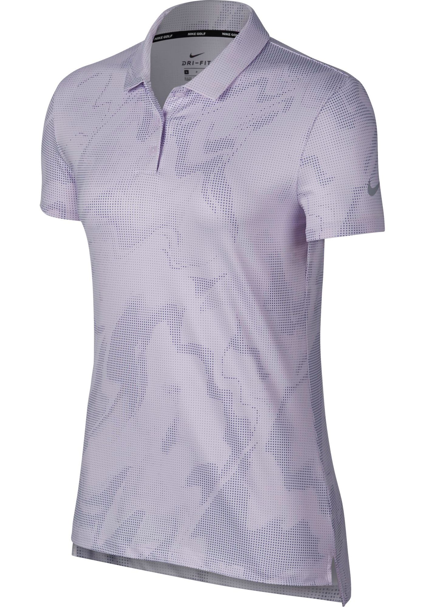 Nike Women's Dry Short Sleeve Printed Golf Polo