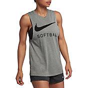 Nike Women's Swoosh Softball Muscle Tank Top