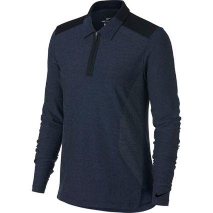 Nike Women's Zonal Cooling Long Sleeve Golf Polo