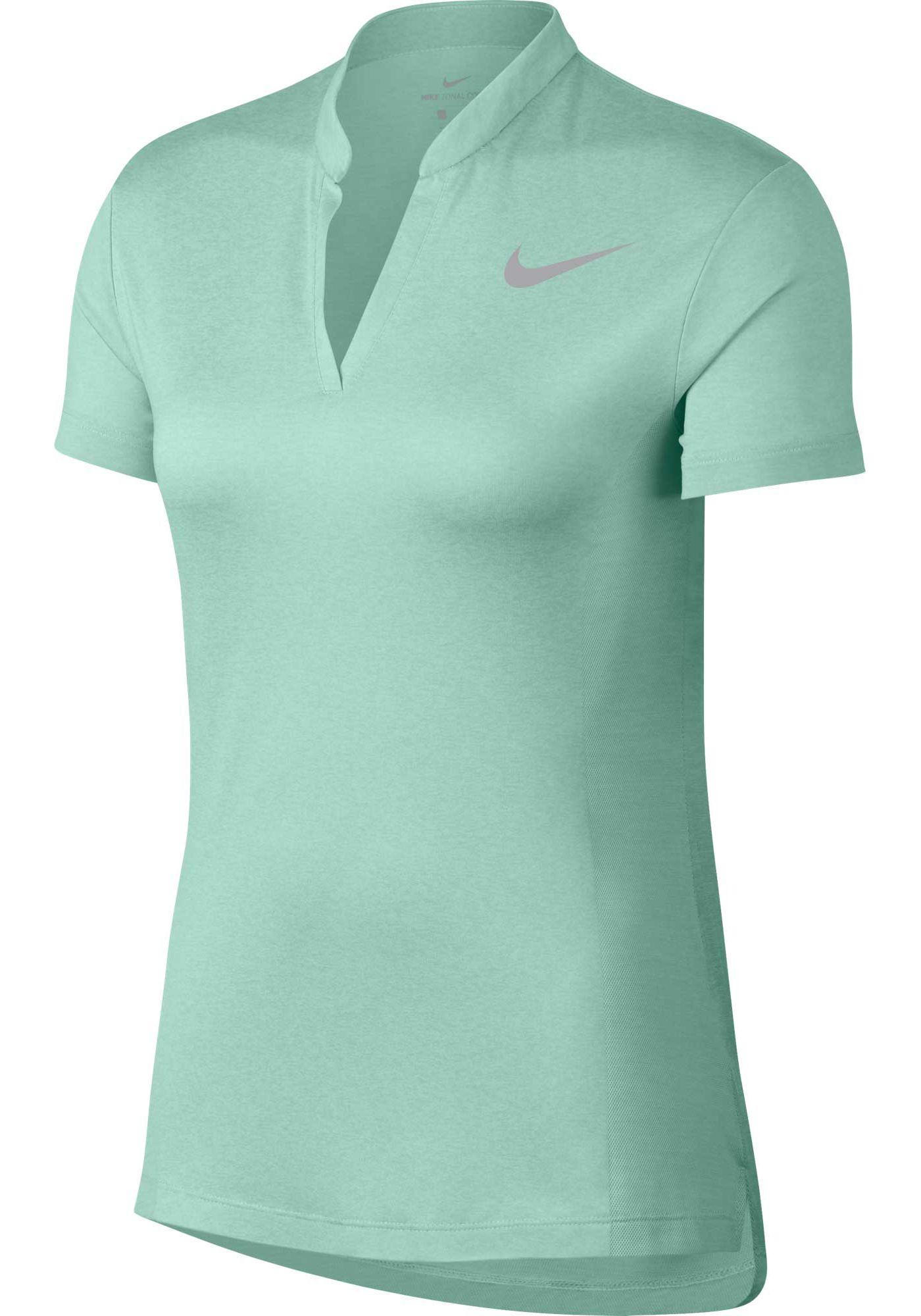 Nike Women's Short Sleeve Jacquard Zonal Cooling Golf Polo