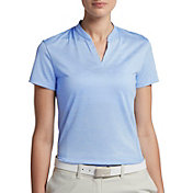 Nike Women's Short Sleeve Jacquard Zonal Cooling Golf Polo