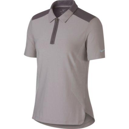 Nike Women's Zonal Cooling Short Sleeve Golf Polo