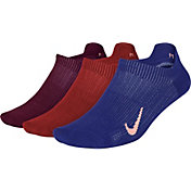 Nike Women's Everyday Plus Lightweight Training No-Show Socks 3 Pack