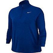 Nike Women's Plus Size Element Half-Zip Running Shirt