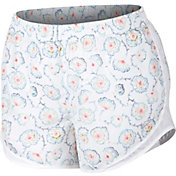 Nike Women's Plus Size Dry 3'' Tempo Floral Printed Running Shorts