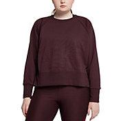 Nike Women's Plus Size Versa Dri-FIT Crew Pullover