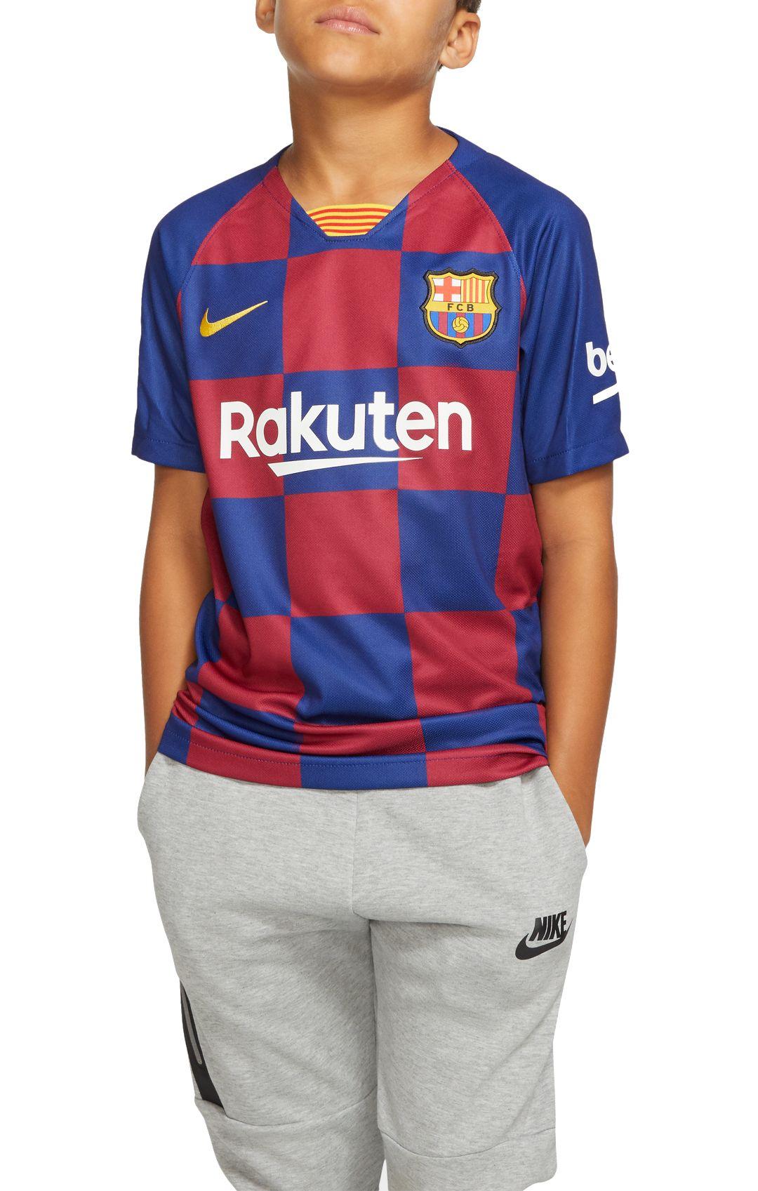 best website 397d9 32199 Nike Youth FC Barcelona '19 Breathe Stadium Home Replica Jersey