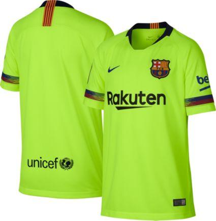 Nike Youth Barcelona FC 2018 Breathe Stadium Away Replica Jersey.  noImageFound e43eaa16c