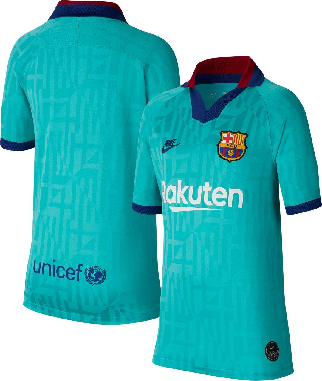detailed look 7ed29 c964b Nike Youth FC Barcelona '19 Breathe Stadium Third Replica Jersey