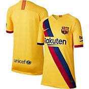 Nike Youth FC Barcelona '19 Breathe Stadium Away Replica Jersey