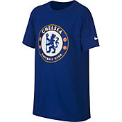Nike Youth Chelsea FC Crest Royal T-Shirt