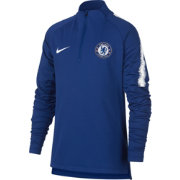 Nike Youth Chelsea FC Royal Quarter-Zip Pullover