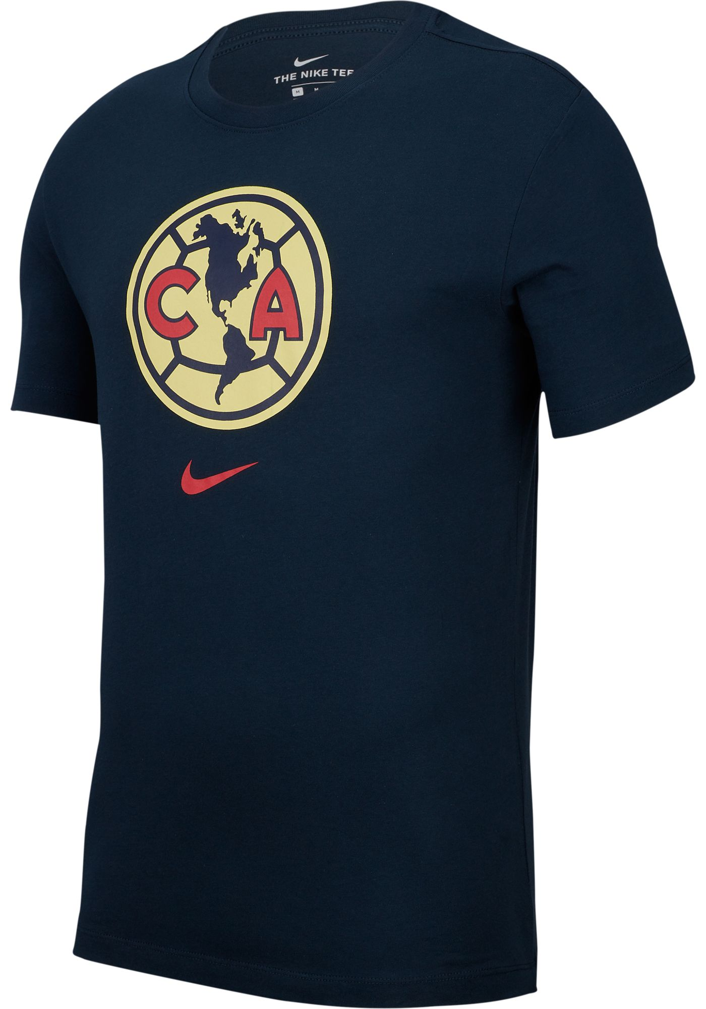 Nike Youth Club America Crest Navy T-Shirt