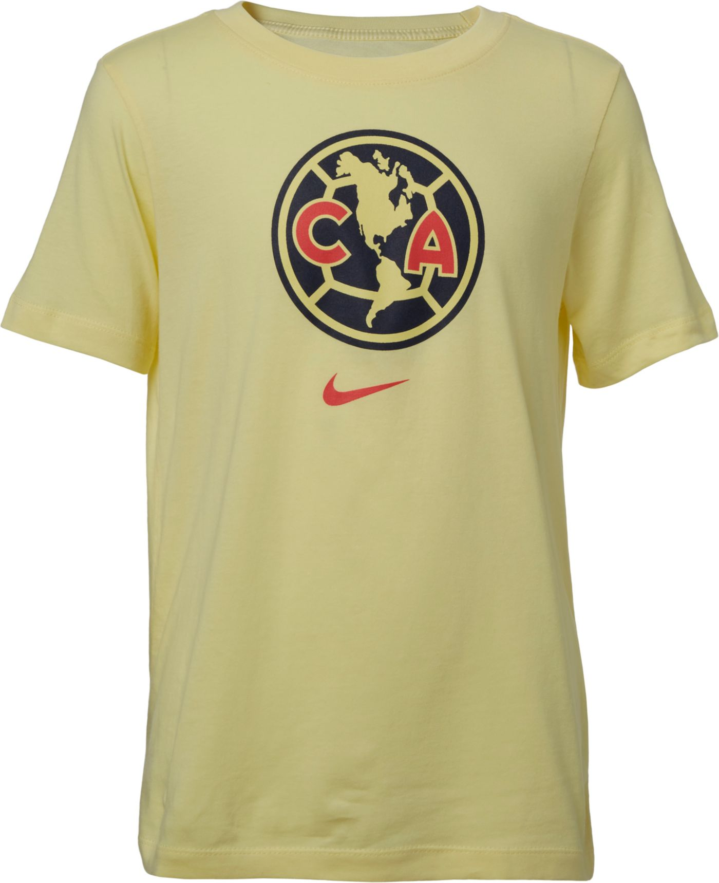 Nike Youth Club America Crest Yellow T-Shirt