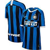Nike Youth Inter Milan '19 Breathe Stadium Home Replica Jersey